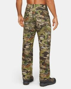 Men's Under Armour ArmourVent™ NFZ Camo Field Hunting Hiking Pants 42 x 36 (Z52)