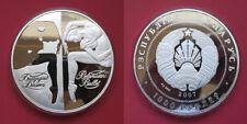 "2000 ""Belarus Ballet' 1 KG .999 Argento Moneta d'oro. box & coa. solo 300 coniate."