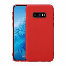 Étui pour Samsung Galaxy S10e SM-G970 Slim Étui en Silicone Étui Mince