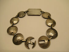 Vintage 1940's Australian Coin Sweetheart Bracelet World War II
