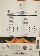 CFR Cluj - Celtic Glasgow MINT TICKET Uefa Europe League 19/20