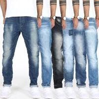 Justing Herren Designer Regular Tapered Comfort Fit Stretch Jeans Hose Länge L30
