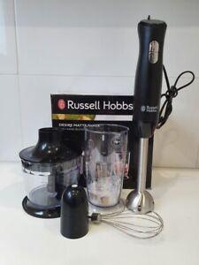 Russell Hobbs Desire Matte Black Hand Blender RHSM5BLK
