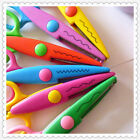 Decorative Craft Border Sewing Scissors Scallop Wavy Pinking Paper Shear AA8ee