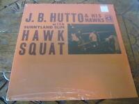J.B. HUTTO Hawk Squat LP Delmark new sealed vinyl record blues reissue