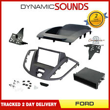 CT23FD65 Double Din Fascia Panel Surround Grey For Ford Transit V363 2015 On