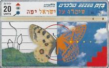 ISRAEL BEZEQ BEZEK PHONE CARD TELECARD 20 UNITS BEAUTIFUL ISRAEL