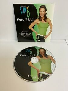 FITNESS DVD DEBBIE SIEBERS SLIM IN 6 KEEP IT UP WORKOUT KEEP GYM 6 WEEK +