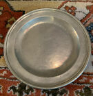 English Pewter Charger Plate by Thomas   Townsend Compton 8  Diameter