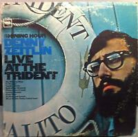 DENNY ZEITLIN live at the trident LP VG CS 9263 Vinyl 1965 Record