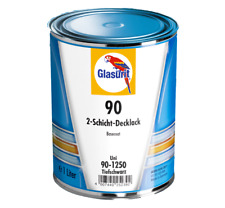 Glasurit SERIE 90- 1250 NOIR PROFUNDO 1 L