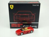 1:64 Tomytec Tomica Limited Vintage Neo Ferrari F355 Spider F129 Mid Version Red
