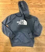 The North Face Sweater Mens Medium Grey Blue Hoodie TNF Mens Free US Ship