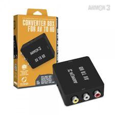 Armor 3 AV to HD Converter! RCA to HDMI Composite AV Adapter N64 SNES GC PS2 DC