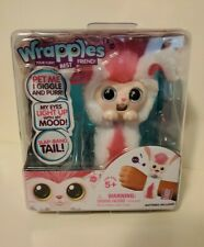 New WRAPPLES Bonnie Bunny Slap-Band Interactive Toy Pet 50+ Sounds & Reactions