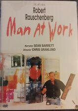 Robert Rauschenberg - Man At Work RARE DVD  Color Ntsc SEALED fast free shipping