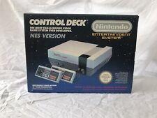 Nintendo NES Console Control Deck Boxed - No Yellowing - Retro - Collectors