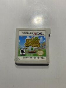 Animal Crossing: New Leaf Nintendo 3DS 2DS Authentic And Tested - Works Great!