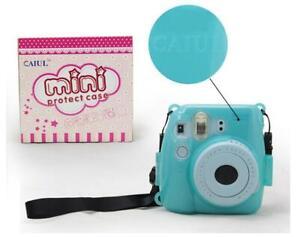 Clear Crystal Camera Case Bag For Fujifilm Polaroid  Mini8 / Mini 9