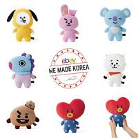 BT21 Character Plush Doll Mini Body Flat Cushion 7types Authentic K-POP Goods