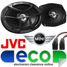 BMW Mini R50 R53 JVC CS-J6930 3 Way 6x9 800 Watts Rear Car Speaker Upgrade Kit