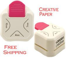 Creativo 3 en 1 Esquina Redondo Perforadora Tarjeta de proyectos de bricolaje Scrapbooking Vaessen