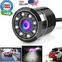 170° CMOS Car Rear View Backup Camera Reverse 8 LED Night Vision Waterproof NEW