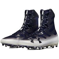 New Under Armour Highlight MC Football Cleats Navy 3000177 MSRP $130 Size 8