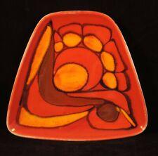 Vintage Poole Pottery Delphis trapezoidal pin dish - Cynthia Bennett