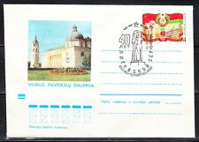 Soviet Lithuania 1975 cover Art museum.40th anniversary of LTSR.Now Cathedral