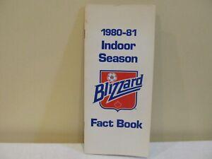 Vintage 1980-81 Toronto Blizzard Indoor Season Fact Book