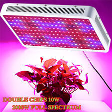 2000W LED Grow Light Kits Full Spectrum Lamp for Hydroponic Medical Plant Tent
