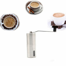 Portable Hand Crank Bean Mill Stainless Steel Ceramic Manual Coffee pulverizer