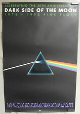 """RARE PINK FLOYD 20th ANNIVERSARY PROMO POSTER """"DARK SIDE OF THE MOON 1973- 1993"""""""