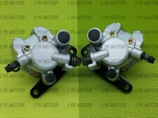 New Front Right Left Brake Calipers For 1987-1992 FourTrax 250 TRX250X With Pads