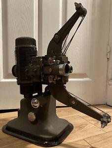 STUNNING Vintage Bell & Howell Model 613 16mm Cine Film Projector & Case & Leads