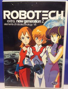 """ROBOTECH Extra: New Generation 2: """"Elements of Robotechnology VII"""" - Anime DVD"""
