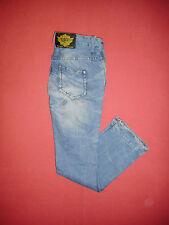 Designer Superdry - W26 L32 - Button-Fly - Ladies Blue Denim Jeans - B287