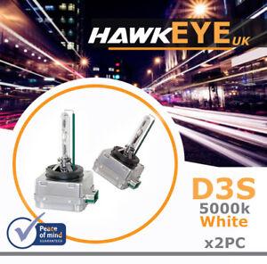 2pc Premium D3S 66340 5000K Xenon Bulb Audi A5 S5 A6 S6 Q5 Q7 S4 Volvo SAAB UK
