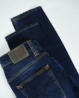 RRP $145 NUDIE GRIM TIM CROSSHATCH WORN IN Men's W30/L32 Stretch Jeans 2858*mm