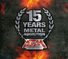 15 Years Metal Addiction-AFM Records 3-CD NEW SEALED U.D.O./Fear Factory/Danzig+