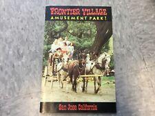 Frontier Village Amusement Park San Jose Souvenir picture booklet