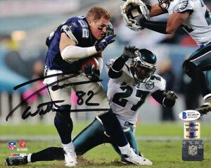 Jason Witten Autographed/Signed Dallas Cowboys 8x10 Photo BAS 28164 PF