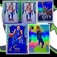 2018-19 Prizm Luka Doncic RC Threads Dazzle Lot + Status Green RC + Holo HGA ?!