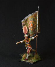 Russian Lead Miniatures. Running Turkish Janissary with Flag
