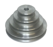 "RDGTOOLS 4 STEP VEE PULLEY 5/8"" BORE 2"" 3"" 4"" 5"" DIAMETER A SECTION PULLEY"
