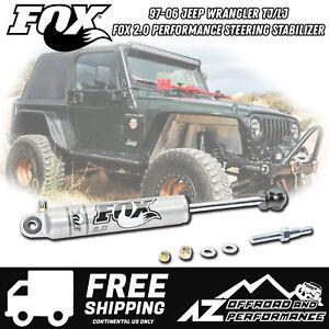 Fox 2.0 Performance Series IFP Steering Stabilizer for 97-06 Jeep Wrangler TJ LJ