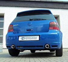 FOX Sportauspuff DUPLEX Komplettanlage R32 Design VW Golf 4 IV re li je 90mm