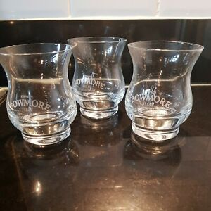 Bowmore Islay! Malt Whisky Glasses set of 3