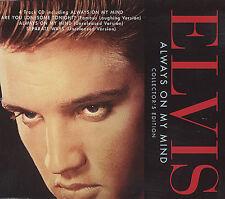 ELVIS PRESLEY -  ALWAYS ON MY MIND CD SINGLE (COLLECTORS EDITION)